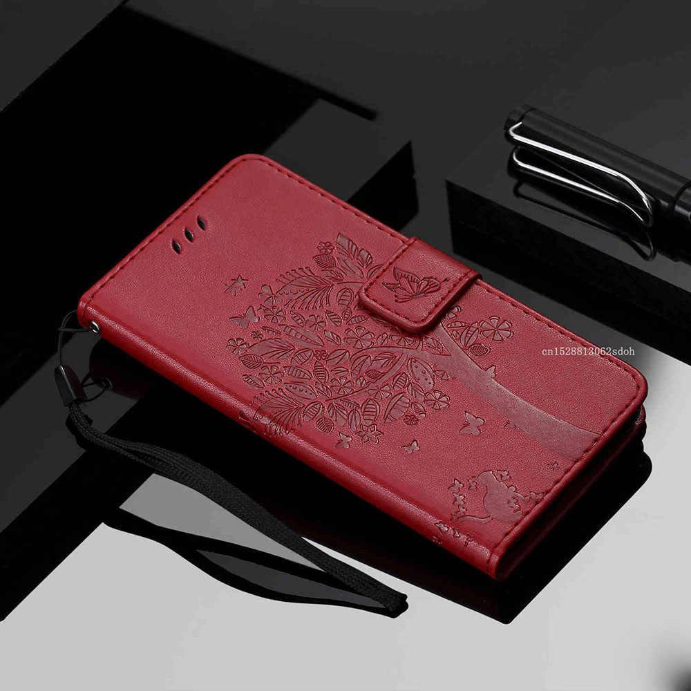 PU Bao Da Điện Thoại Ví Lật Cao Cấp bảo vệ điện thoại Dùng Cho DEXP Ixion ES550 Linh Hồn 3 Pro