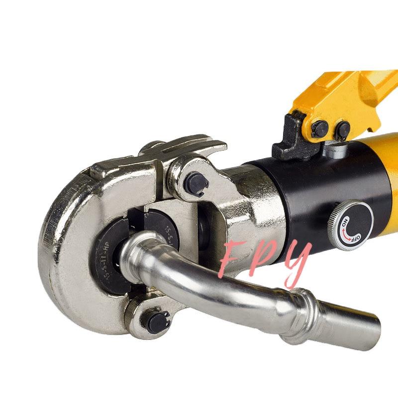 V Тип гидравлический нержавеющая сталь труба обжимной инструмент для труб CW-1632 GC-1632 CW-1625