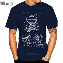 Kömür su isıtıcısı Grill gömlek barbekü hediye Weber ızgara. Barbekü şef kömür Cooker2019 moda marka % 100% pamuk baskılı yuvarlak N
