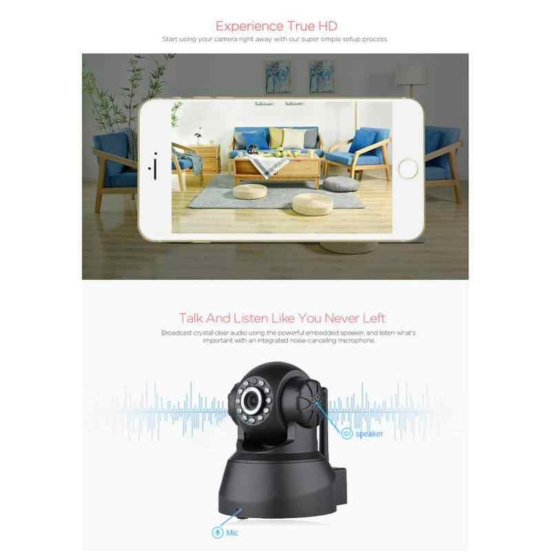 720P камера видеонаблюдения HD видеокамеры Wi-Fi 11 инфракрасный светодиодный свет встроенный колонки с микрофоном Поддержка система дистанционного управления с сигнализацией для воспроизведения видео