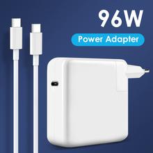NORTHJO 96W USB C PD ładowarka do laptopa zasilacz z kablem ładującym typu C dla MacBook Pro Air 13 15 16 cal US UK ue wtyczka tanie tanio CN (pochodzenie) 20 2V 4 3A