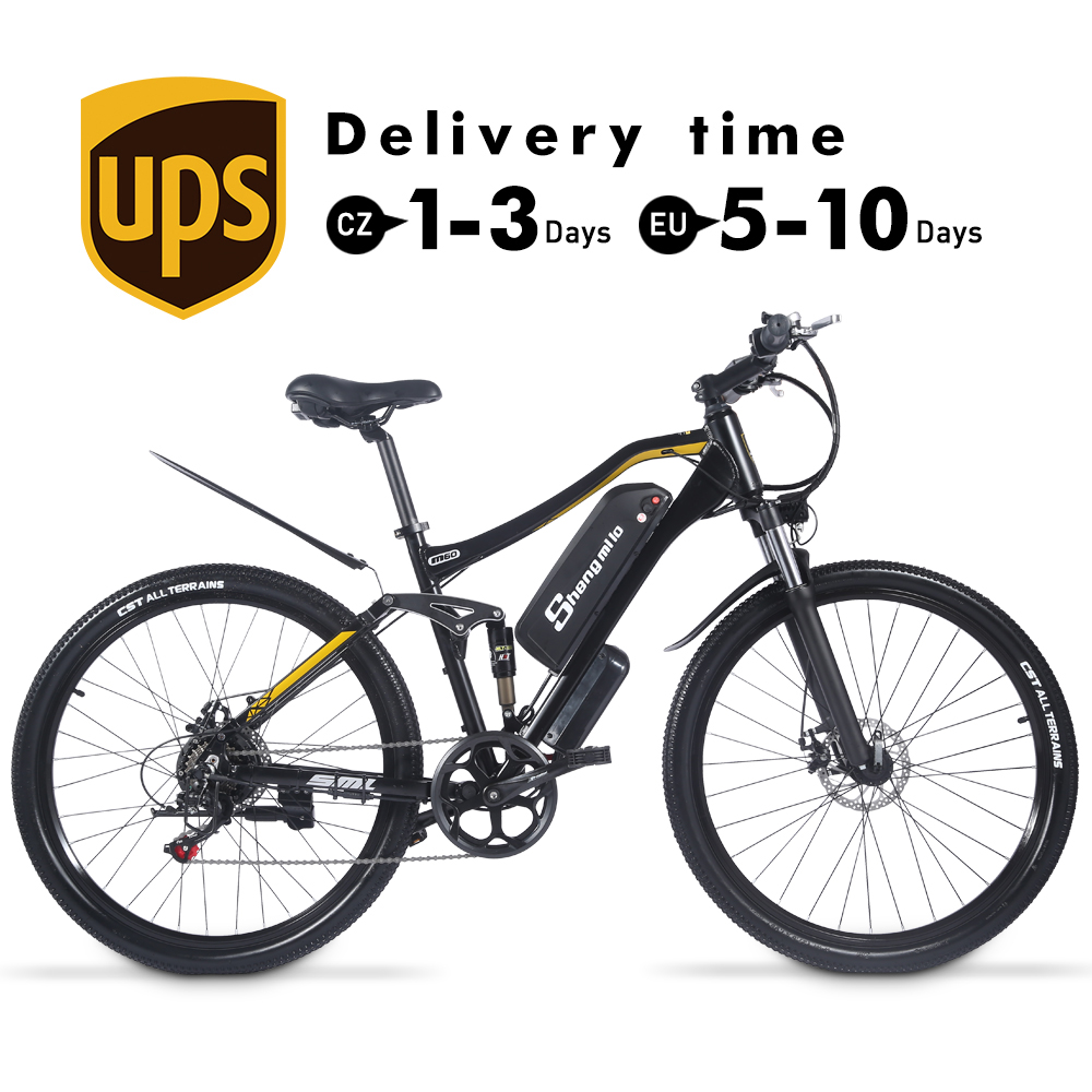Electric Bike M60 Plus Mountain Ebike 500W Men's Bicycle 27.5Inch Outdoor For Beach MTB 48V17AH Sport Cycling Snowbike ShengMilo 2