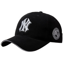 Fashion couple embroidered baseball cap men's outdoor sports