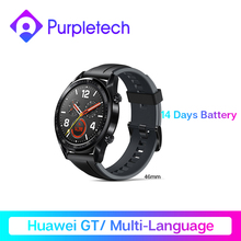 "In Lager GIobal VersionHUAWEI Uhr GT Smart Uhr 1.39 ""'AMOLED Screen14Days Batterie Lebensdauer 5ATM Wasserdicht Herz Rate Tracker"