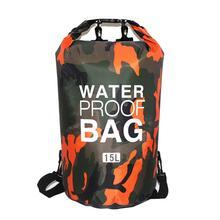 Swimming-Bag Rafting Dry-Bag River-Ocean-Backpack Foldable Diving PVC Outdoor Waterproof