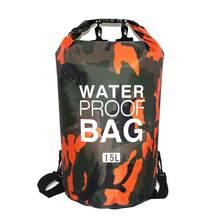 Sac sec étanche en PVC pour hommes et femmes, sac à dos pliable de 5l, 10l, 20l, 30l, pour plongée en plein air, plage, Rafting, océan