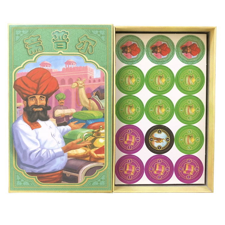 Hot Jaipur Cards Game  2 Players Game For Party Family Board Game Playing Cards