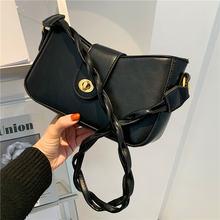 Повседневная черная женская сумка через плечо сумки тоуты с
