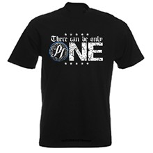 t shirt Aj Styles There Can Be Only One T Shirt Mens Round Neck Short Sleeves Casual T-Shirt(China)