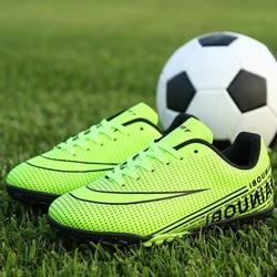 Buty piłkarskie dla mężczyzn dzieci buty do piłki halowej trampki murawa superfly futsal oryginalne korki wygodne wodoodporne|Buty piłkarskie|Sport i rozrywka -