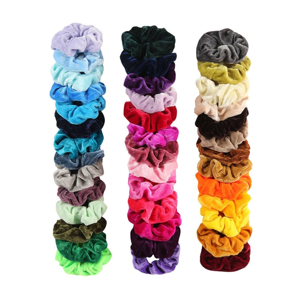 Gifts For Girls Hair Scrunchy Large Velvet Scrunchies Gifts For Ladies Luxurious Velvet Velour Scrunchies