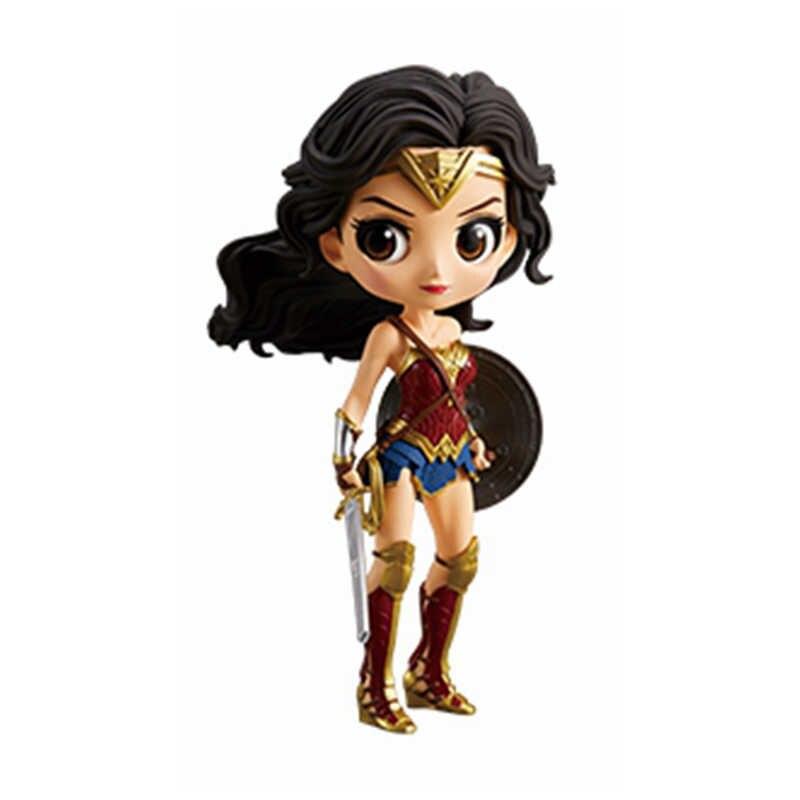 Dc comics q posket figura sexy catwoman harley quinn o coringa figura da mulher maravilha qposket modelo brinquedos presente de natal