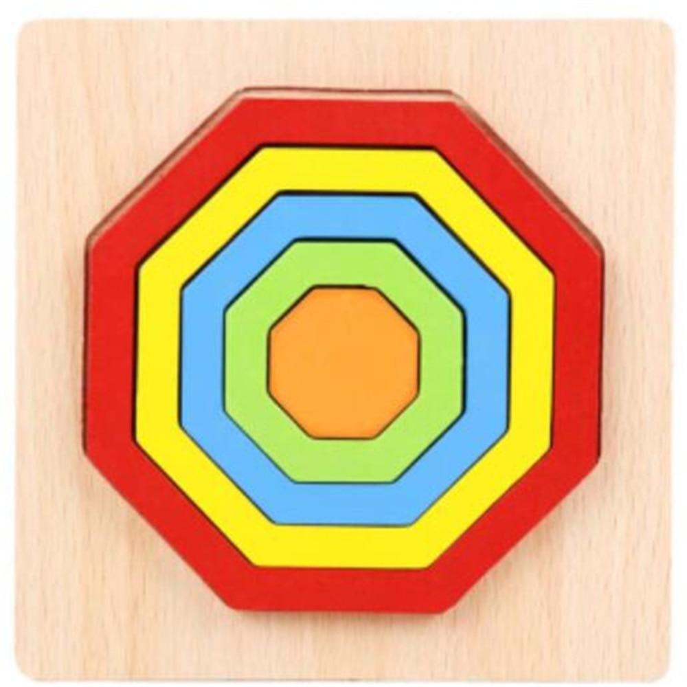 Montessori Cartoon Animal Educational Wooden Beaded Geometry Digital Clock Puzzles Gadgets Matching Clock Toy For Children 11