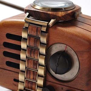 Image 3 - Мужские часы BOBO BIRD, мужские роскошные брендовые деревянные наручные часы в деревянной коробке, мужские наручные часы, рождественский подарок для Него