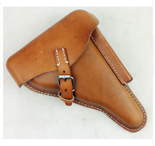 Brown Epic Militaria Replica WW2 German P-08 Hard Shell Luger Holster