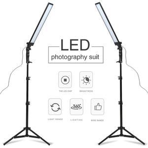 Image 1 - GSKAIWEN 180 LED Light Photography Studio LED Lighting Kit Adjustable Light with Light Stand Tripod Photographic Video FillLight