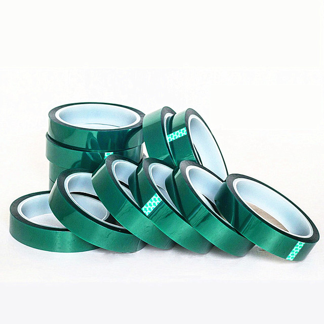 1 Roll Of 33 Meters PET High Temperature Insulation Tape Electroplating PCB SMT Solde Plating Protective No Trace Tape 1