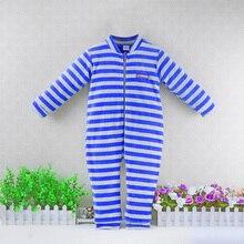 Детский двухслойный утепленный зимний комбинезон из велюра и чистого хлопка для детей от 2 до 5 лет, костюмы с длинными рукавами