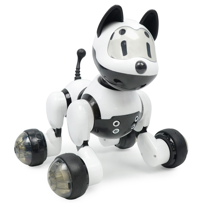 English Version Intelligent Robot Dog CHILDREN'S Toy Voice Sensing Electric Puppy Electronic Pet