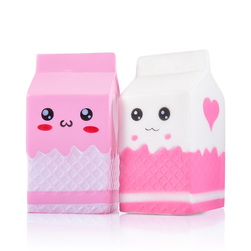 Jumbo Squishy Milk Squishies Toys Children Slow Rising Antistress Exquisite Kid Soft Gift Practical Jokes
