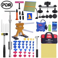 PDR Car Repair Dent Puller Set Removal Tool Kit Dent Puller Slide Hammer Rubber Tool Bag Glue Tabs for Any Car Dent Repair