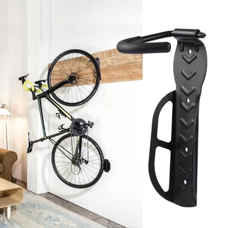 Negro Gancho de pared para bicicleta negro Gancho de suspensi/ón Gancho de suspensi/ón de acero inoxidable Soporte para garaje Garaje universal para ciclismo Accesorio