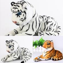 Soft Stuffed Toys Cute Simulation Tiger Animal Soft Stuffed Plush Toy Pillow Children Kids Baby Gifts 25cm