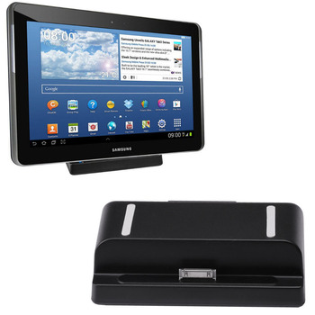 Desktop USB Charging Dock Charger Cradle Station Holder + Cable For Samsung Galaxy TAB 2 7.0 8.9 10.1 P5200 Note 10.1 N8000