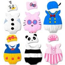 Комбинезон панда для мальчиков и девочек костюм на Хэллоуин