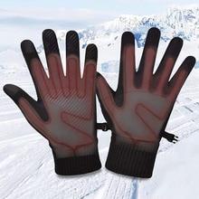 Зима обогрев перчатки стелька USB электричество обогрев ножка вставки прокладки термостат переключатель на открытом воздухе обогрев принадлежности для женщин мужчин