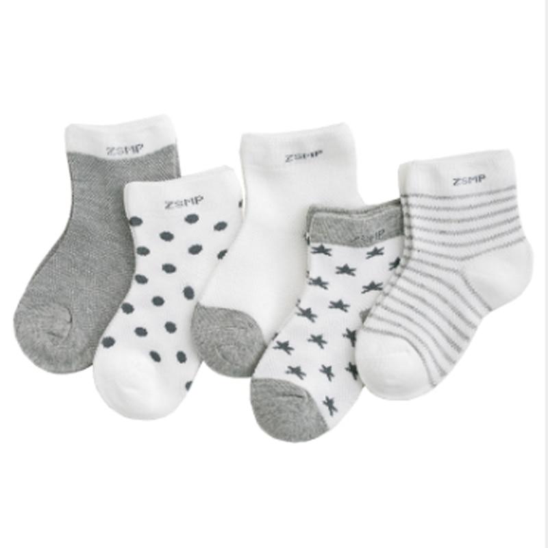 Newborn-Baby Socks Clothes-Accessories Thicken Kids Boy Cartoon Cotton for 0-2-Years