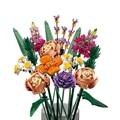 Букет для создания строительных блоков на День святого Валентина, подарок для девочек, романтическое растение с цветами, украшение для дома...