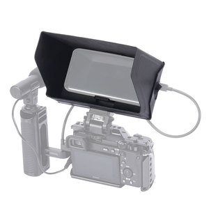 Image 5 - SmallRig смартфон Солнцезащитная бленда (маленький) Мобильный телефон Защита от солнца капот камера монитор экран ЖК капот для видео Поддержка Rig   2689