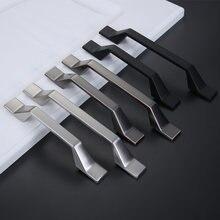 Скандинавский шкаф с выдвижными ящиками и длинной ручкой легкий