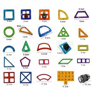 Image 5 - 90 182ピース/セットビッグ標準サイズ磁気モデル & ビルディングブロックレンガデザイナーおもちゃ16異なる子供のためのセット誕生日ギフト