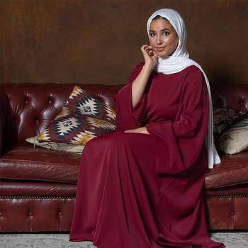 Vestido Hijab musulmán para mujer caftán de Dubái, ropa islámica de marcaín,...