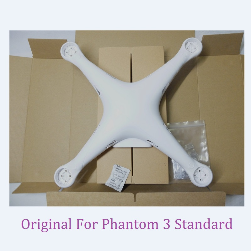 1Set Original DJI Phantom 3 Standard 3S Shell Upper Bottom Body Shell Landing Gear with screws