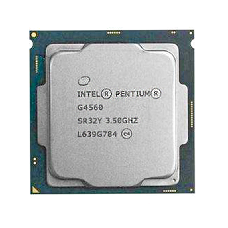 <font><b>Intel</b></font> Pentium PC Computer Desktop Processor G4560 <font><b>CPU</b></font> LGA <font><b>1151</b></font>- 14 nanometers Dual-Core 100% working properly image