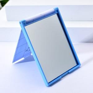 Image 4 - Vicney taşınabilir katlanır makyaj aynası tek taraflı seyahat tıraş makyaj aynası kompakt cep aynası katlanır taşınabilir sıcak satış