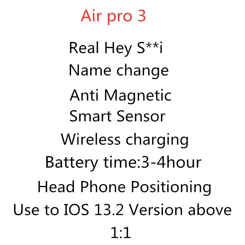 Original i100000 TWS 1:1 Airpro3nd 1536u chip Earbus Wlan Bluetooth Kopfhörer pk i500 i10000 i20000 i90000 pro TWS