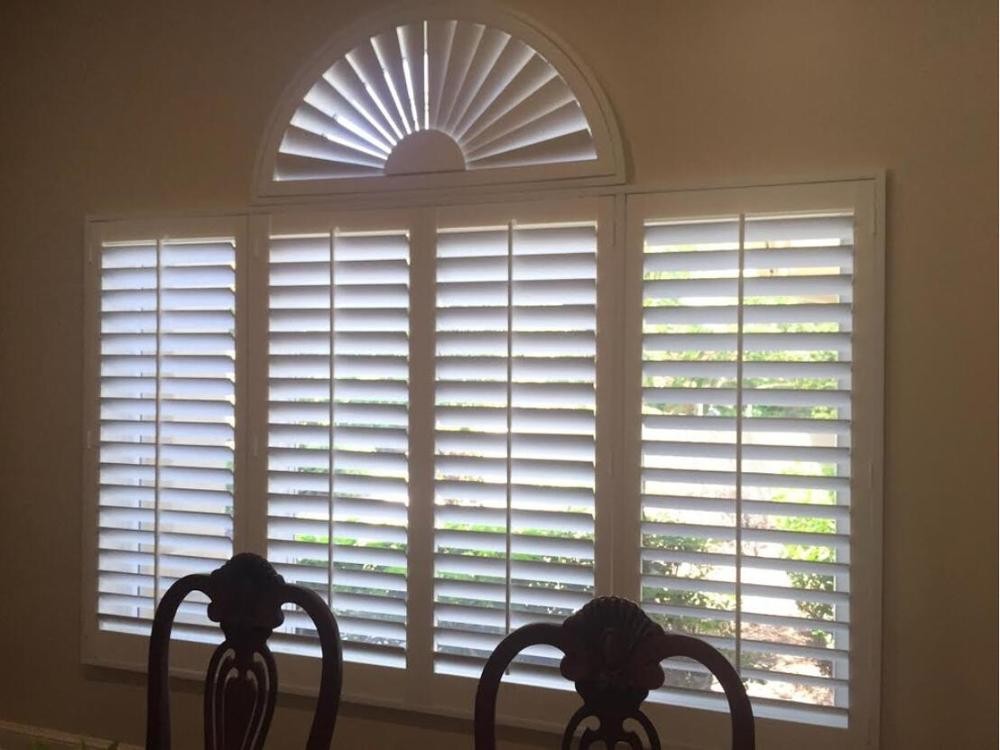 Custom Basswood Plantation Shutters Wooden Blinds Solid Wood Shutter Louvers PS238