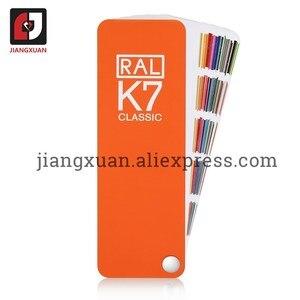 Image 2 - Original alemanha ral cor do cartão internacional padrão ral k7 gráfico de cores para a pintura 213 cores com caixa de presente