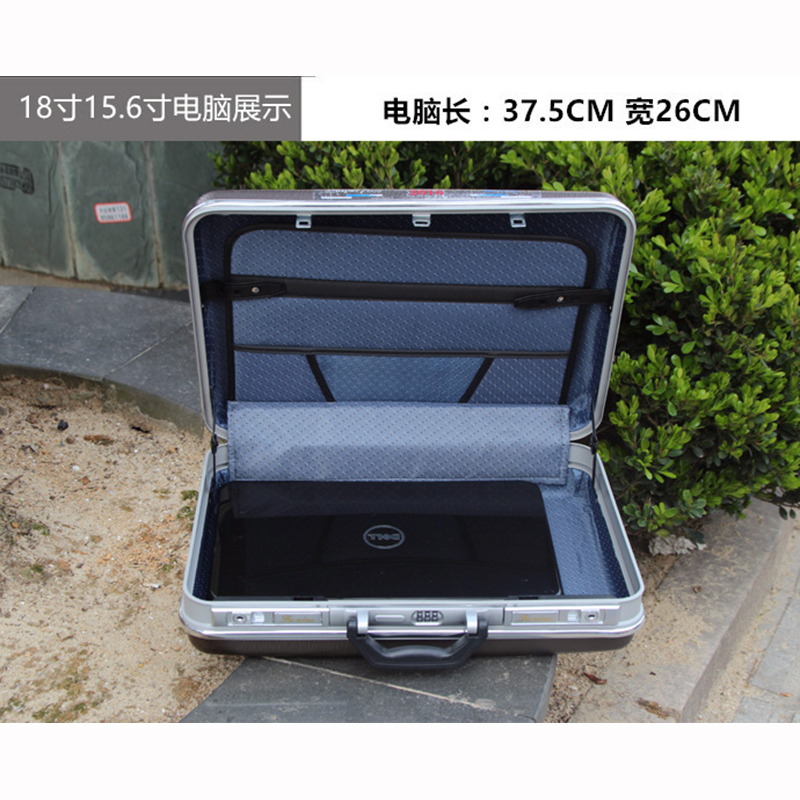 Купить с кэшбэком high quality Aluminum Tool case suitcase toolbox password box File box Impact resistant safety case equipment camera case
