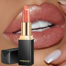 Professional Lips Makeup Waterproof Long Lasting Pigment Nude Pink Mermaid Shimmer Lipstick Luxury Cosmetics
