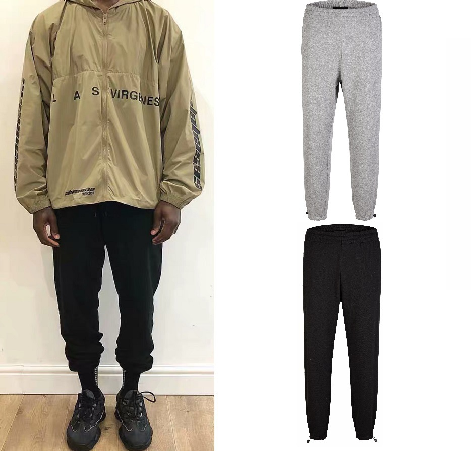 New Style Europe And America High Street Sweatpants Men's High Street GD G-DRAGON Coconut Loose Casual Pants INS Super Fire Coup