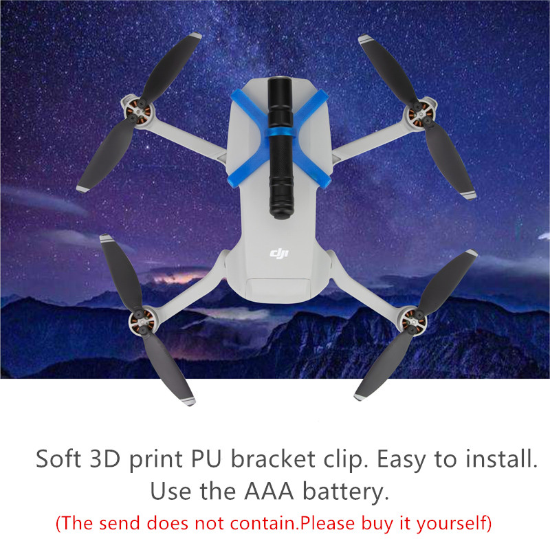Night Searchlight LED Flight Light Lamp for DJI Mavic Mini Drone Accessories