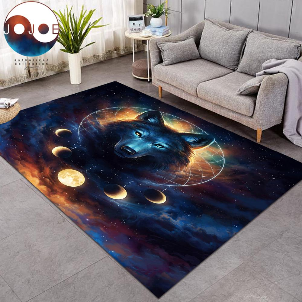 Dream Catcher By Jojoesart Carpets Moon Eclipse Galaxy Wolf Large Area Rug For Living Room Modern Home Mat Anti Dirty Alfombra Carpet Aliexpress