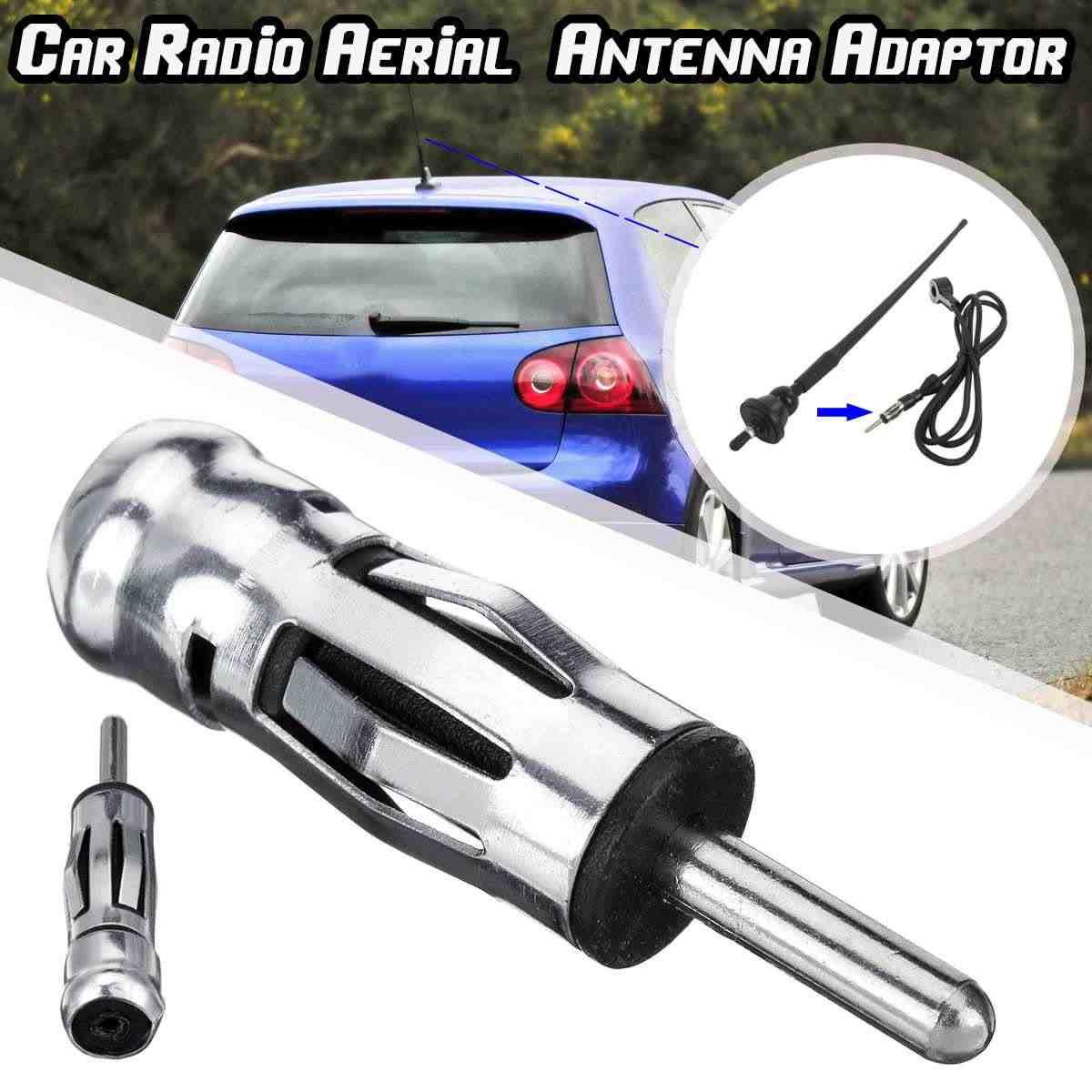 Universal Car Radio Stereo ISO Din Antenna Antenna Spina di Adattatore del Connettore Per Il VW/Ford/Toyota/Peugeot