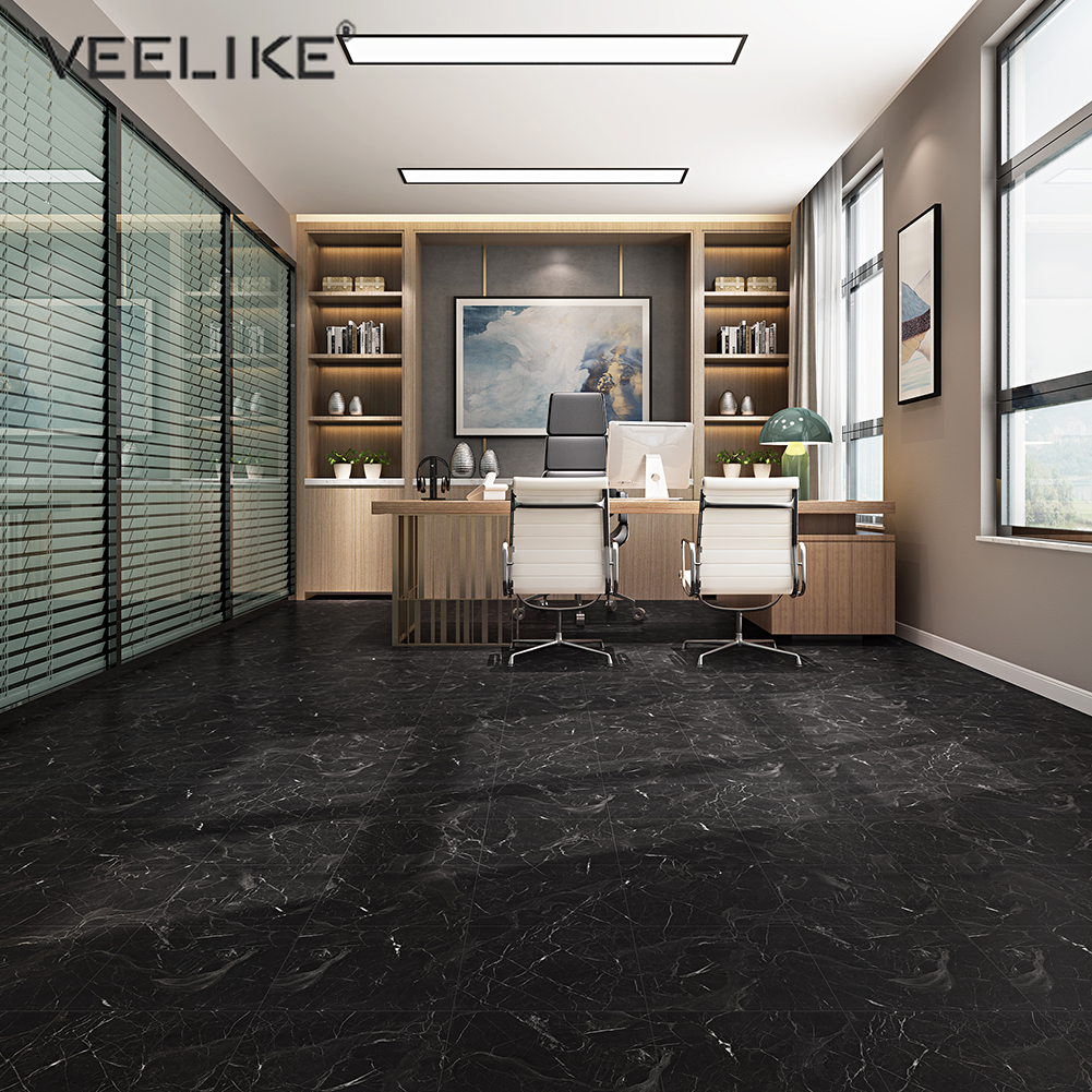 Waterproof Floor Stickers Self Adhesive Marble Wallpaper Kitchen Wall Sticker House Renovate Thick Wall Ground Decal Room Decor