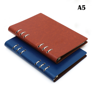 Faux leather notebook A5 A6 spiral notebook planner agenda organizer hard cover business note book stationery Agenda Bujo Diary a5 a6 note books for school macarons hand book spiral notebook diary leather spiral cute creative note books diary for travel